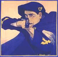 Affice d' Andre Farcy1910 Concours de tir de l'Isere